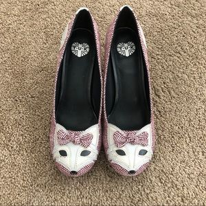 ModCloth TUK Fox Heels— never been worn